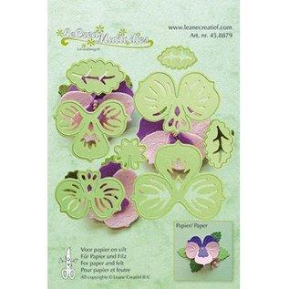 Leane Creatief - Lea'bilities und By Lene Punching template: make 3D Flowers