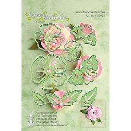 Leane Creatief - Lea'bilities und By Lene maken 3D bloemen: ponsen template