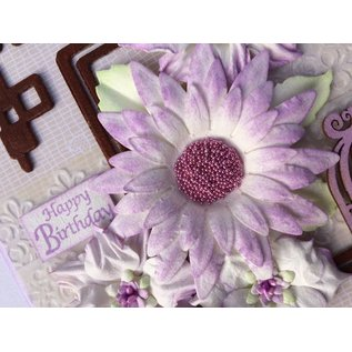Leane Creatief - Lea'bilities und By Lene Ponsen sjabloon: maak 3D Flowers