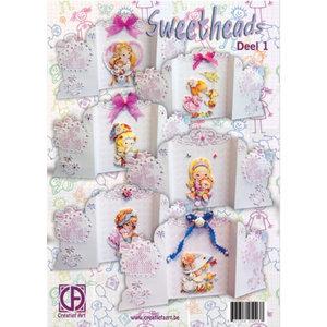 BASTELSETS / CRAFT KITS Kaarten Pakket, Sweetheads