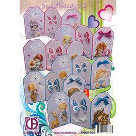 BASTELSETS / CRAFT KITS tarjetas completos del kit: Sweetheads