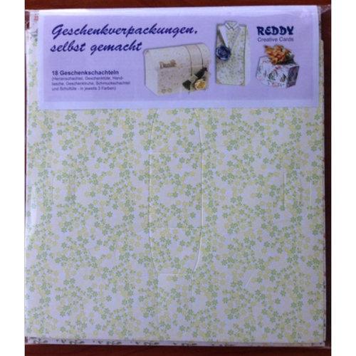 Dekoration Schachtel Gestalten / Boxe ... 18 Geschenkverpakkingen in spring colors