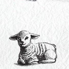 Nellie Snellen Transparent stempel: får