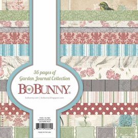 BO BUNNY Ontwerper Bloc: Garden Journal Collection