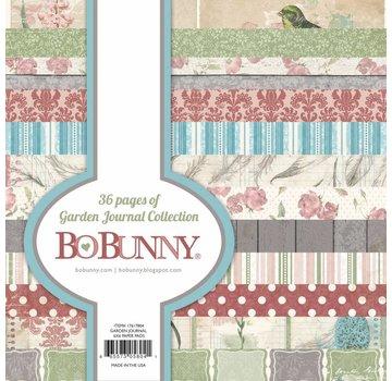 BO BUNNY Ontwerper Bloc: Garden Journal Collection