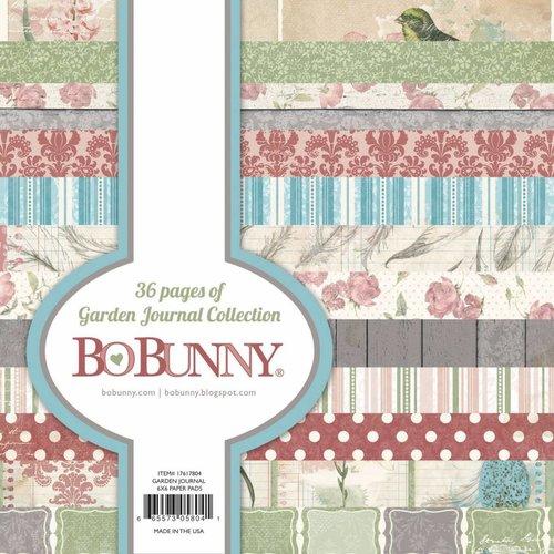 BO BUNNY Designerbloc: Garden Journal Collection