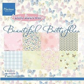 Marianne Design Ontwerper Block: Beautiful Butterflies