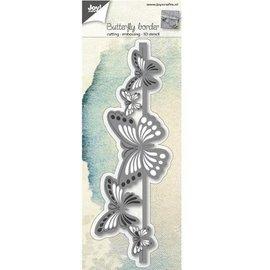 Joy!Crafts / Jeanine´s Art, Hobby Solutions Dies /  troqueles de corte: Frontera de la mariposa 3D