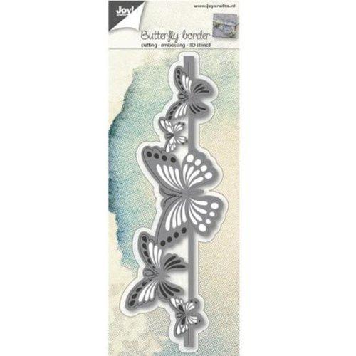 Joy!Crafts / Jeanine´s Art, Hobby Solutions Dies /  matrices de coupe: border papillon 3D