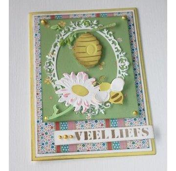 Joy!Crafts / Jeanine´s Art, Hobby Solutions Dies /  Skæring dies: Bee kurv og solsikke