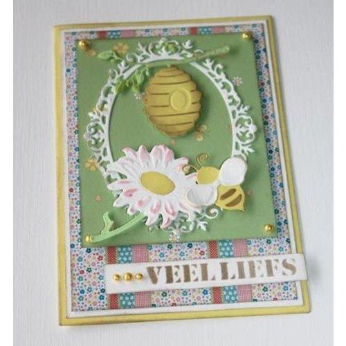 Joy!Crafts / Jeanine´s Art, Hobby Solutions Dies /  Cutting dies: Bee basket and sunflower