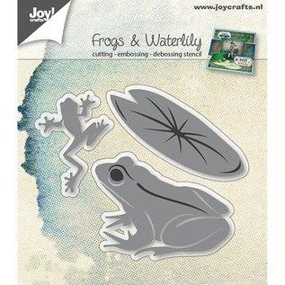 Joy!Crafts / Jeanine´s Art, Hobby Solutions Dies /  Stansmessen: kikkers en lelieblad