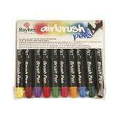 BASTELZUBEHÖR, WERKZEUG UND AUFBEWAHRUNG Air Brush Pens, 10 Stiften