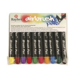 BASTELZUBEHÖR, WERKZEUG UND AUFBEWAHRUNG Air Brush Penne, 10 pin