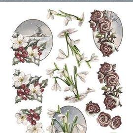 AMY DESIGN AMY DESIGN, Hojas troqueladas: Flores