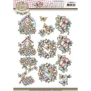 Yvonne Creations Die feuilles coupées: Printemps