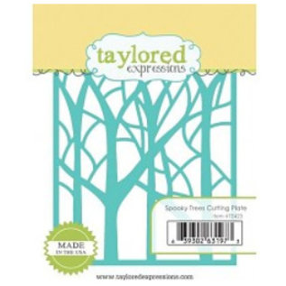 Taylored Expressions Punching template: trees in the forest
