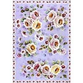 DECOUPAGE AND ACCESSOIRES papier Decoupage Finmark Tender Roses