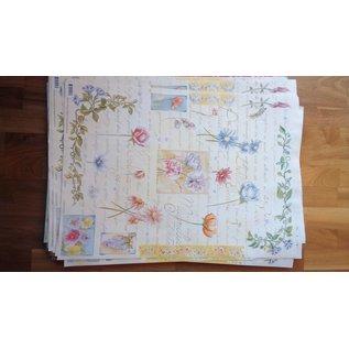 DECOUPAGE AND ACCESSOIRES carta decoupage Finmark botanico