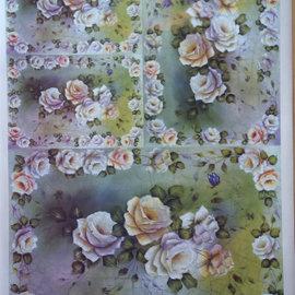 DECOUPAGE AND ACCESSOIRES papier Decoupage Flower Design