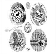 VIVA DEKOR (MY PAPERWORLD) Transparent Stempel: Vintage Eier