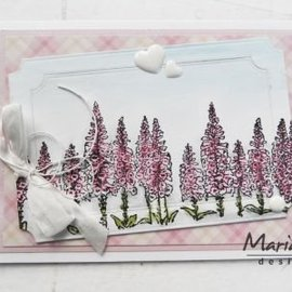 Marianne Design sello transparente: la frontera de Tiny, dedaleras