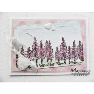 Marianne Design Transparant stempel: Tiny's grens, vingerhoedskruid