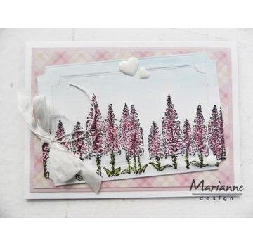 Marianne Design Transparent stempel: Tiny grænse, fingerbøl