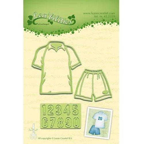 Leane Creatief - Lea'bilities und By Lene Cutting dies: Sportkleding + cijfers