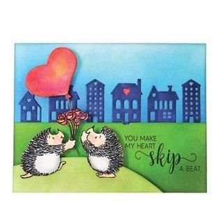 Penny Black Transparent Stempel: niedliche Katze, Mäuse und Igel