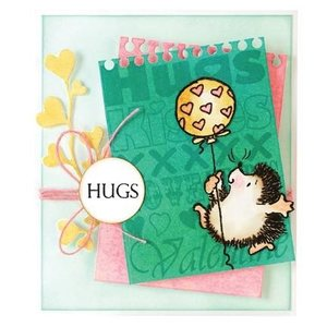 Penny Black Transparent Stamps: cute cat, mice and hedgehogs