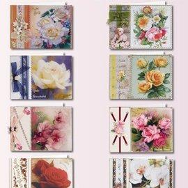 Komplett Sets / Kits Compleet kaart voor 8 gevouwen kaarten!