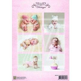Bilder, 3D Bilder und ausgestanzte Teile usw... 1 Bilderbogen A4: Neonata dolce