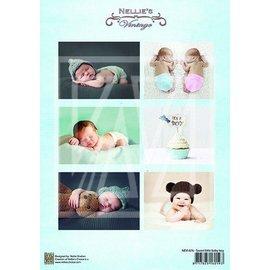 Bilder, 3D Bilder und ausgestanzte Teile usw... 1 Bilderbogen A4: Neonato dolce