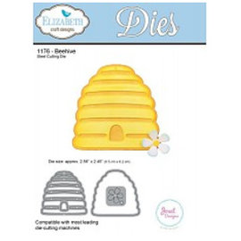 Elisabeth Craft Dies , By Lene, Lawn Fawn Stampaggio e goffratura modello: wafer Beehive
