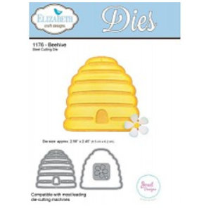 Elisabeth Craft Dies , By Lene, Lawn Fawn Stamping and embossing template: Beehive wafer
