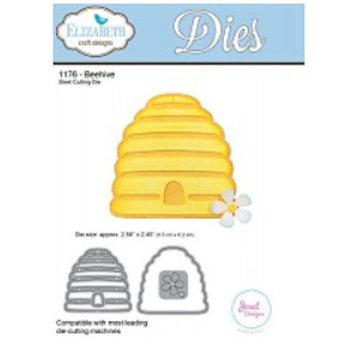 Elisabeth Craft Dies , By Lene, Lawn Fawn Stampaggio e goffratura modello: wafer Beehive