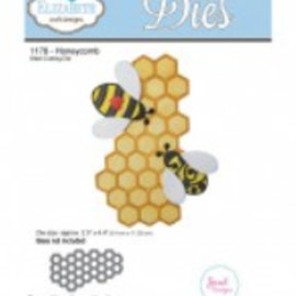Elisabeth Craft Dies , By Lene, Lawn Fawn Stamping and embossing template: 1 Honeycomb