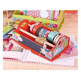 Objekten zum Dekorieren / objects for decorating scatola di legno per la conservazione dei nastri decorativi