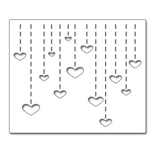 """Penny Black Stansmessen: """"Heart Drops"""" Heart Dropfen"""