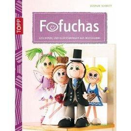 FOFUCHA libro A5: regalos y amuletos hechos de goma espuma