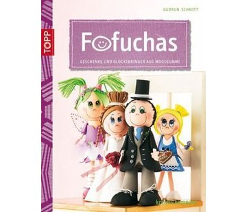 FOFUCHA A5 book: gifts and lucky charms made of foam rubber
