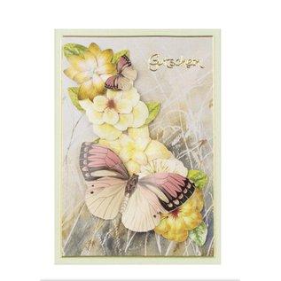 BLUMEN (MINI) UND ACCESOIRES Twin Pack flowerart, yellow