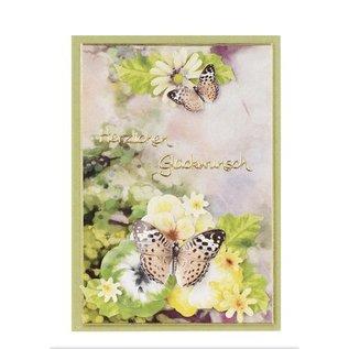 BLUMEN (MINI) UND ACCESOIRES Twinpack FlowerArt, gelb