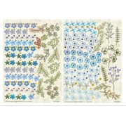 BLUMEN (MINI) UND ACCESOIRES Twin Pack flowerart, blue, small