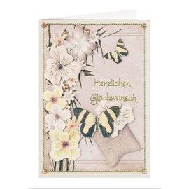 BLUMEN (MINI) UND ACCESOIRES Twin Pack flowerart, gule toner, liten
