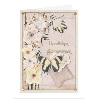 BLUMEN (MINI) UND ACCESOIRES Twin Pack Flowerart, toni del giallo, piccolo