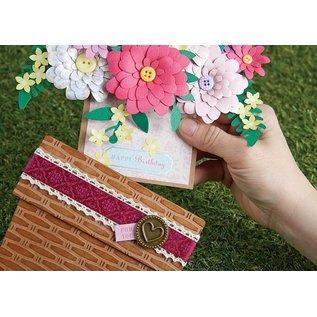 Docrafts / X-Cut Ponsen sjabloon: Flowers