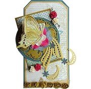 Marianne Design Cutting and Embossing Template + stamps: butterflies