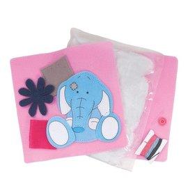 Kinder Bastelsets / Kids Craft Kits Toots - - Mes Blue Nose Friends Coussin Feutre